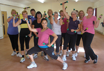Zumba for mixed abilities